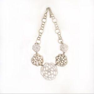 Francesca's Floral Design Necklace